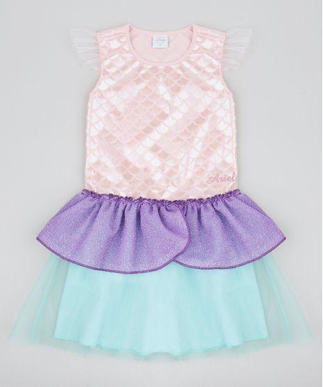 Vestido-Infantil-Carnaval-Ariel-Pequena-Sereia-Metalizado-com-Tule-Rose-9439087-Rose_1
