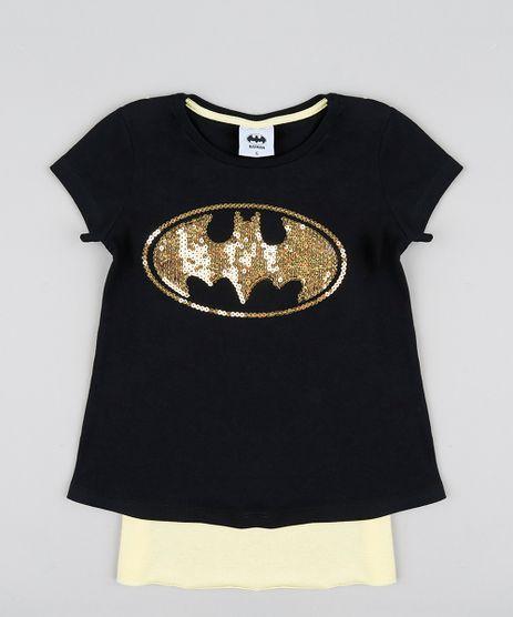 Blusa-Infantil-Carnaval-Batgirl-com-Capa-Manga-Curta-Decote-Redondo-Preta-9433379-Preto_1