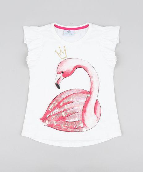 Blusa-Infantil-Carnaval-Flamingo-com-Paete-e-Babado-Manga-Curta-Decote-Redondo-Off-White-9442898-Off_White_1