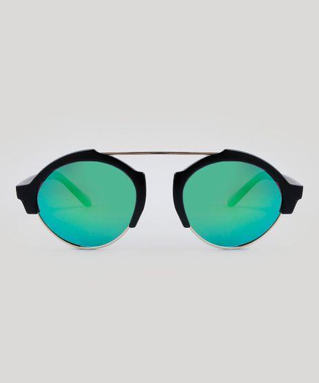 Oculos-de-Sol-Redondo-Unissex-Oneself-Preto-9485666- 50f22f1a0b