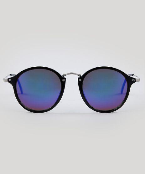 2d272212631ec Oculos-de-Sol-Redondo-Feminino-Oneself-Preto-9485624-