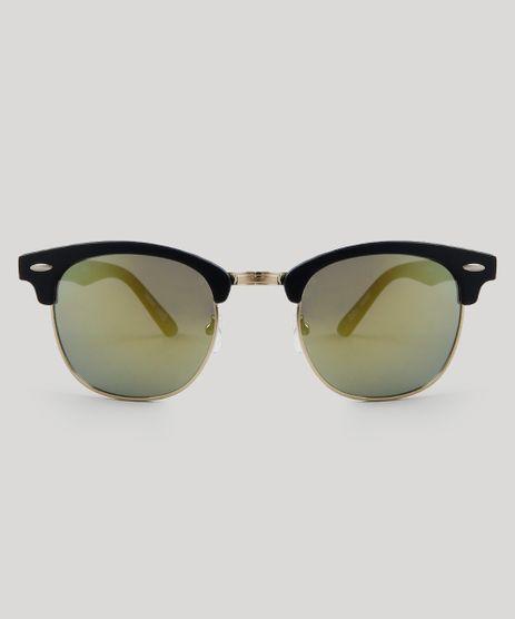 01123ca1e5674 Oculos-de-Sol-Redondo-Feminino-Oneself-Preto-9485627-