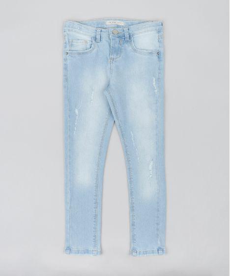 04db783488b Calca-Jeans-Infantil-com-Puidos-Azul-Claro-9044545- ...