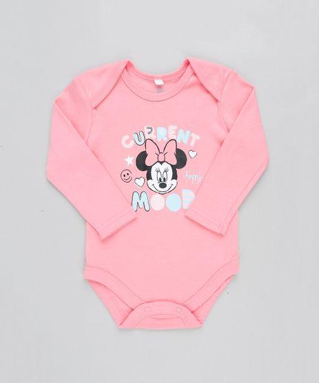 Body-Infantil-Minnie-Manga-Longa-Decote-Redondo-Rosa-9190796-Rosa_1
