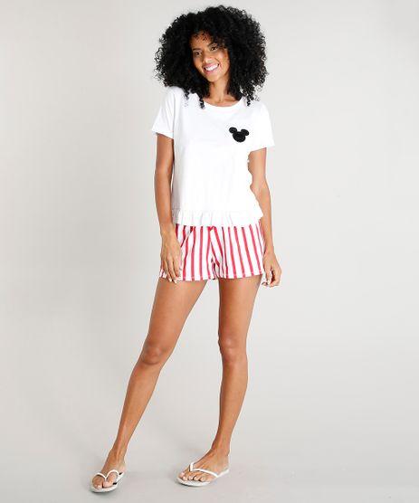 Pijama-Feminino-Mickey-com-Pelo-e-Babado-Manga-Curta-Off-White-9419667-Off_White_1