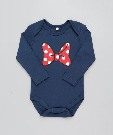Body-Infantil-Minnie-Manga-Longa-Decote-Redondo-Azul-Marinho-9190792-Azul_Marinho_1