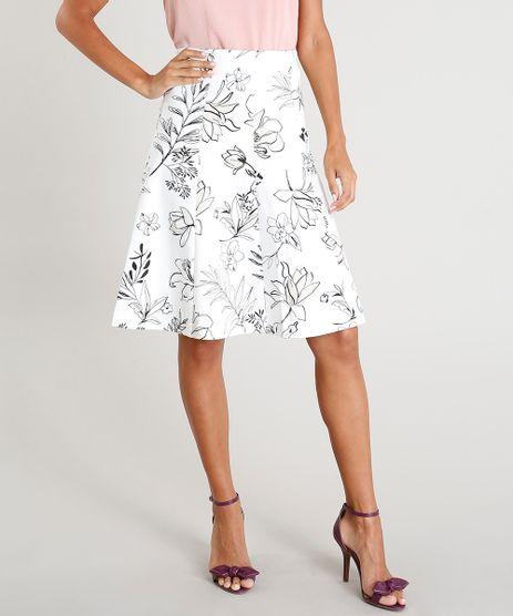 Saia-Feminina-Evase-Curta-Estampada-Floral-Off-White-9365386-Off_White_1