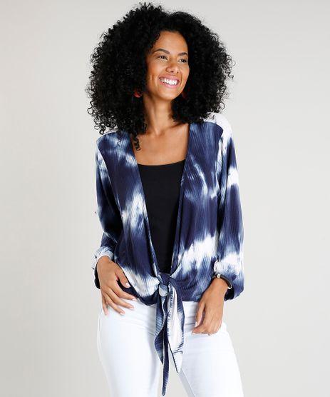 Kimono-Feminino-Curto-Estampado-Tie-Dye-com-No-Azul-Marinho-9433076-Azul_Marinho_1