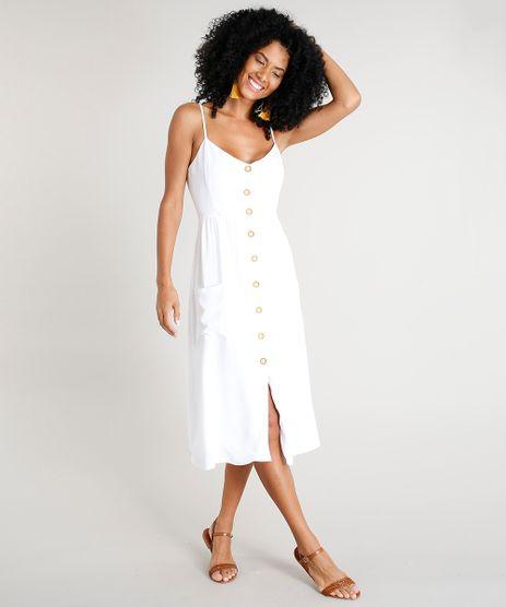 Vestido-Feminino-Midi-com-Bolsos-Branco-9311016-Branco_1_1