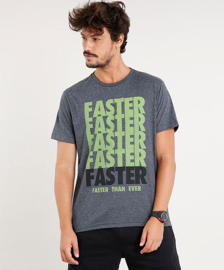 Camiseta-Masculina-Esportiva-Ace--Faster--Manga-Curta-Gola-Careca-Cinza-Mescla-Escuro-9411068-Cinza_Mescla_Escuro_1