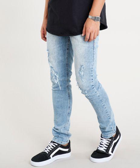 Calca-Jeans-Masculina-Slim-com-Rasgos-Azul-Claro-9393923-Azul_Claro_1