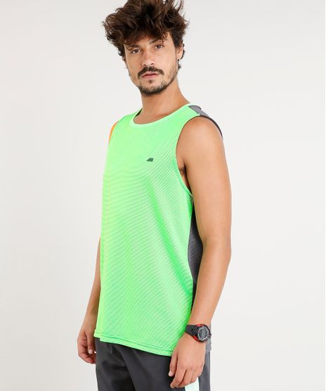 Regata-Masculina-Esportiva-Ace-Gola-Careca-Verde-Neon- d989599a925