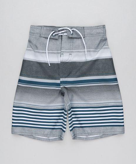 Bermuda-Surf-Infantil-Listrada-com-Cordao-Cinza-9438854-Cinza_1