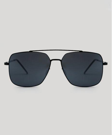 4db5cadd7f7f8 Oculos-de-Sol-Quadrado-Masculino-Oneself-Preto-9485020-