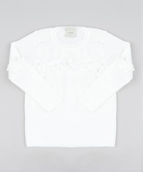 Sueter-Infantil-em-Trico-com-Babados-Manga-Longa-Off-White-9442907-Off_White_1