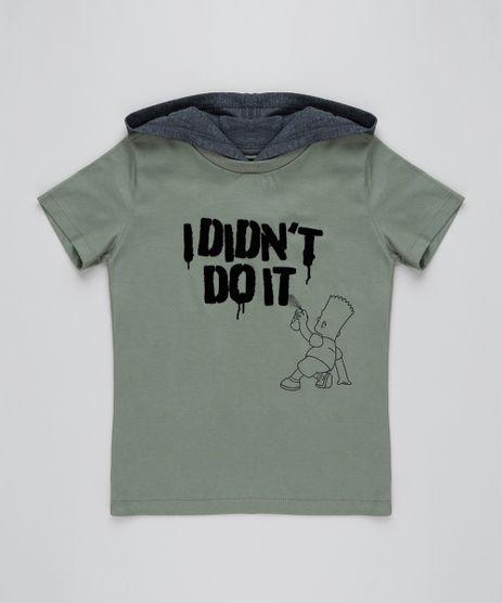 Camiseta-Infantil-Bart-Simpson-com-Capuz-Manga-Curta-Verde-Militar-9431223-Verde_Militar_1