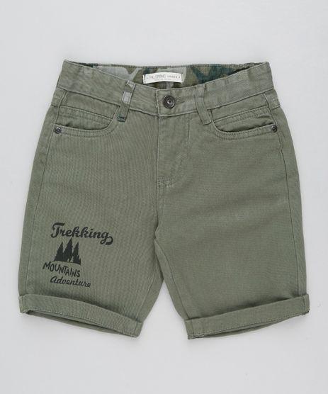 Bermuda-Color-Infantil-Reta--Trekking--Verde-Militar-9431445-Verde_Militar_1