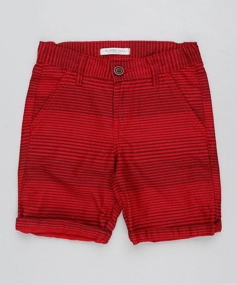 Bermuda-Color-Infantil-Reta-Listrada-Vermelha-9432510-Vermelho_1