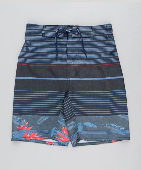 Bermuda-Surf-Infantil-Listrada-com-Cordao-Azul-9438855-Azul_1