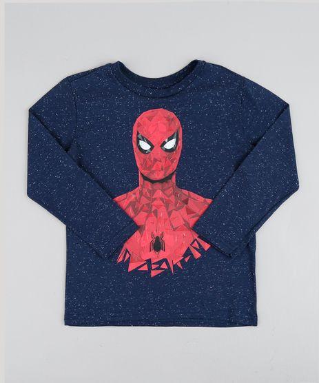 Camiseta-Infantil-Homem-Aranha-Manga-Longa-Gola-Careca-Azul-Marinho-9426108-Azul_Marinho_1