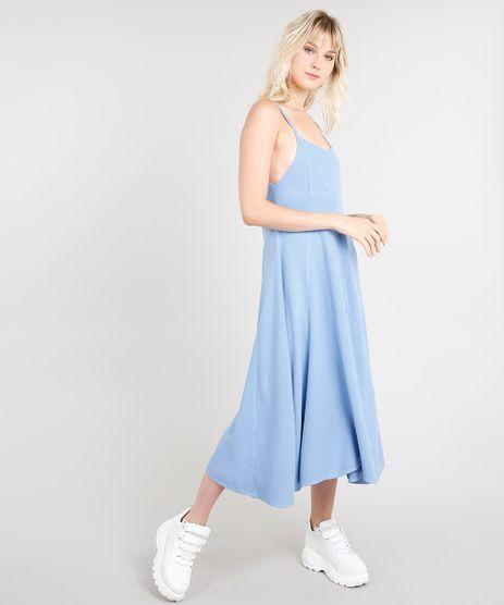 Vestido-Midi-Feminino-Mindset-Evase-Azul-Claro-9476609-Azul_Claro_1