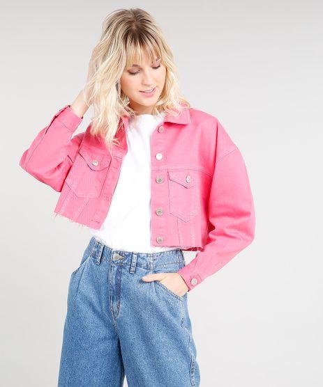 Jaqueta-Cropped-Feminina-Mindset-em-Sarja-com-Barra-Desfiada-Pink-9476611-Pink_1