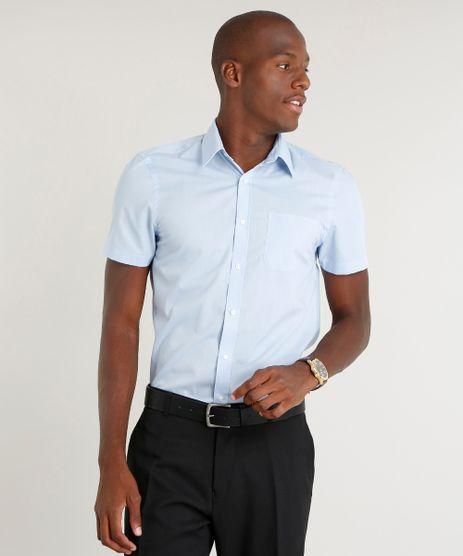 Camisa-Masculina-Comfort-com-Bolso-Manga-Curta-Azul-Claro-7602490-Azul_Claro_1