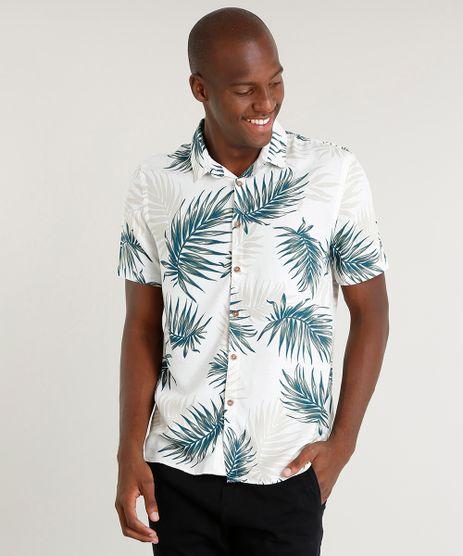 Camisa-Masculina-Relaxed-Estampada-de-Folhagem-com-Linho-Manga-Curta-Off-White-9482733-Off_White_1