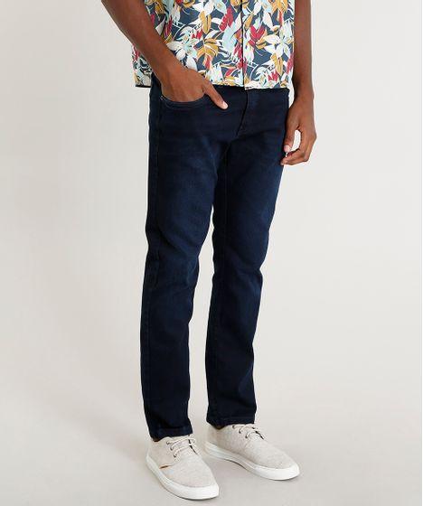 fe777b19a6 Calca-Jeans-Masculina-Reta-Azul-Escuro-9382200-Azul Escuro 1 ...