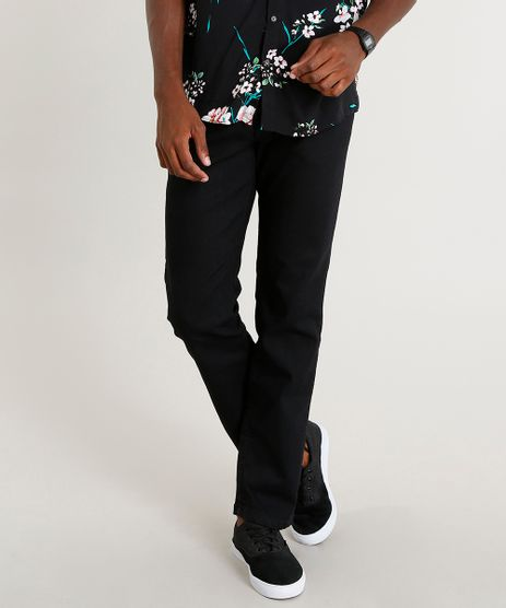 Calca-Jeans-Masculina-Reta-Preta-9382199-Preto_1