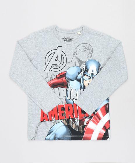 Camiseta-Infantil-Capitao-America-Manga-Longa-Gola-Careca-Cinza-Mescla-9464182-Cinza_Mescla_1