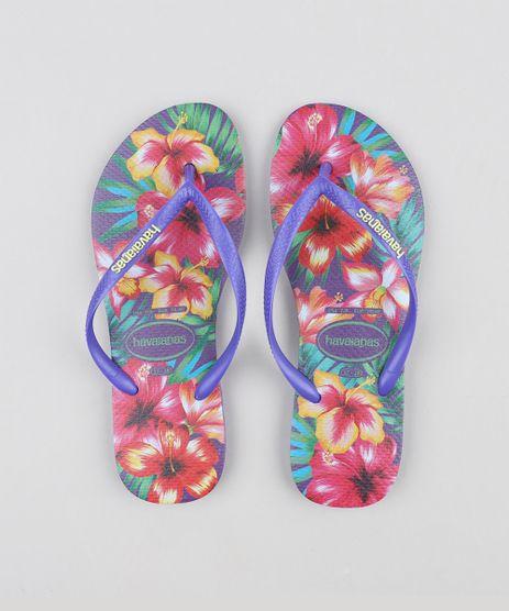 Chinelo-Feminino-Havaianas-Slim-Estampado-Floral-Roxo-Neon-9316051-Roxo_Neon_1