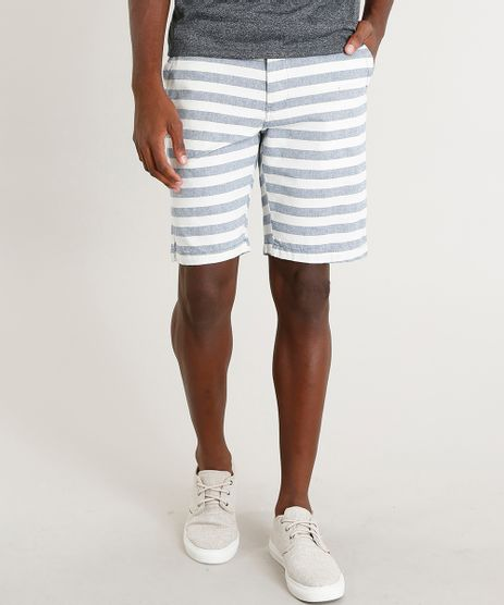 Bermuda-Masculina-Reta-Listrada-com-Cinto-Off-White-9442575-Off_White_1