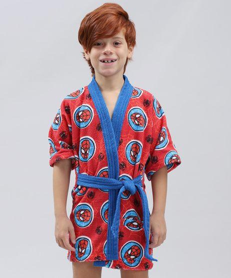 Roupao-Infantil-Atoalhado-Estampado-Homem-Aranha-Vermelho-9386653-Vermelho_1