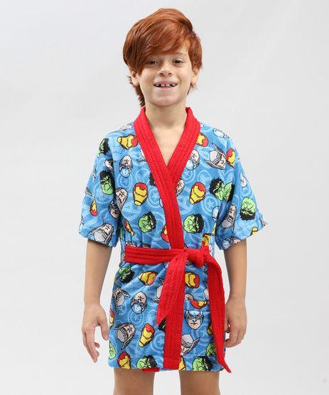 Roupao-Infantil-Atoalhado-Estampado-Os-Vingadores-Azul-9328658-Azul_1