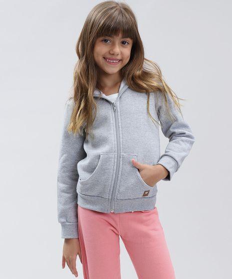 Blusao-Infantil-Basico-em-Moletom-Felpado-com-Capuz-Cinza-Mescla-9460565-Cinza_Mescla_1