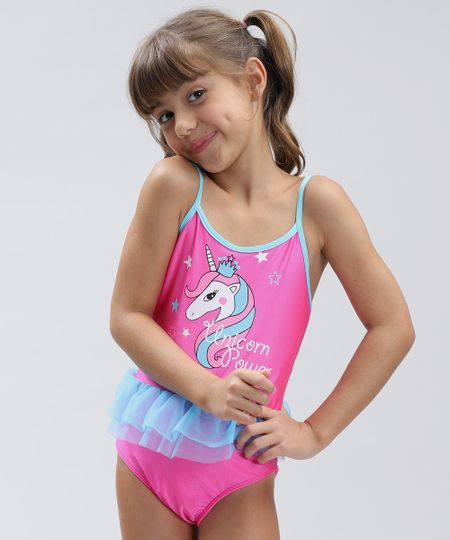 Comprar Maiô Infantil Tutu Morango - Use Pipa | Moda Praia