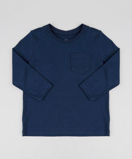 Camiseta-Infantil-Basica-com-Bolso-Manga-Longa-Gola-Careca-Azul-Marinho-9429787-Azul_Marinho_1