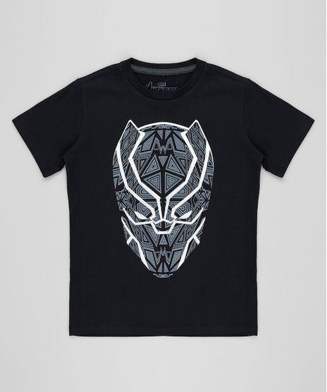 Camiseta-Infantil-Pantera-Negra-Manga-Curta-Gola-Careca-Preta-9430933-Preto_1