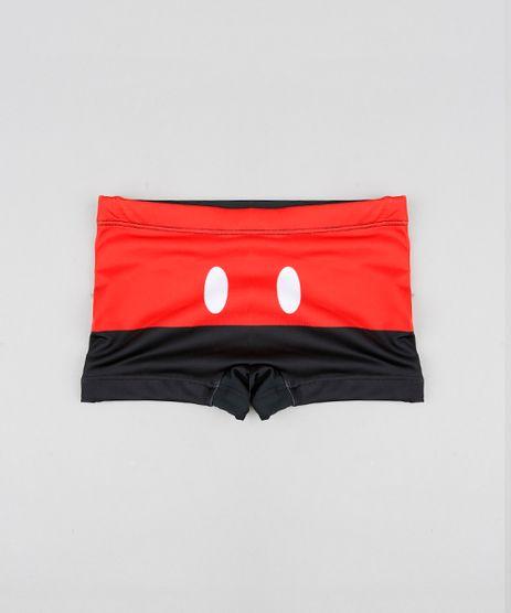 Sunga-Boxer-Infantil-Mickey-Mouse-Preta-9432505-Preto_1