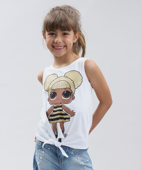 Regata-Infantil-LOL-Surprise-com-No-Decote-Redondo-Branca-9297079-Branco_1