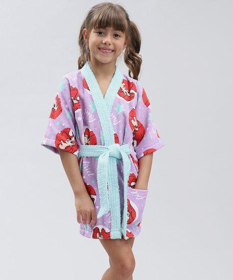 Roupao-Infantil-Atoalhado-Estampado-Ariel-Pequena-Sereia-Lilas-9328647-Lilas_1