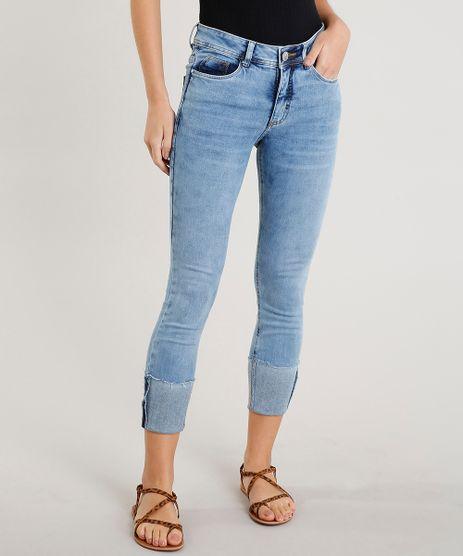 Calca-Jeans-Feminina-Cropped-Barra-Virada-Azul-Claro-9458545-Azul_Claro_1
