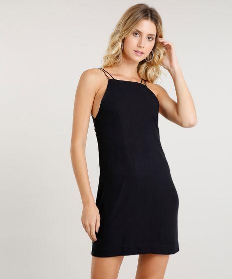 Vestido-Feminino-Curto-com-Abertura--Preto-9447381-Preto_1