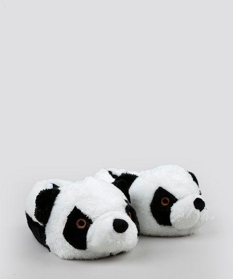 Pantufa-Infantil-de-Panda-com-Orelhinhas-Branca-9255395-Branco_1