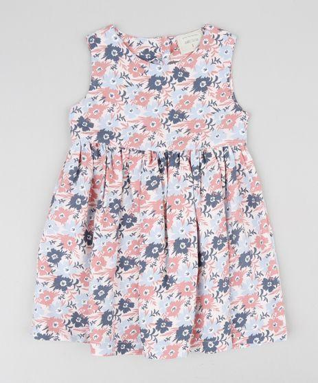 Vestido-Infantil-Estampado-Floral-Rosa-Claro-9416796-Rosa_Claro_1
