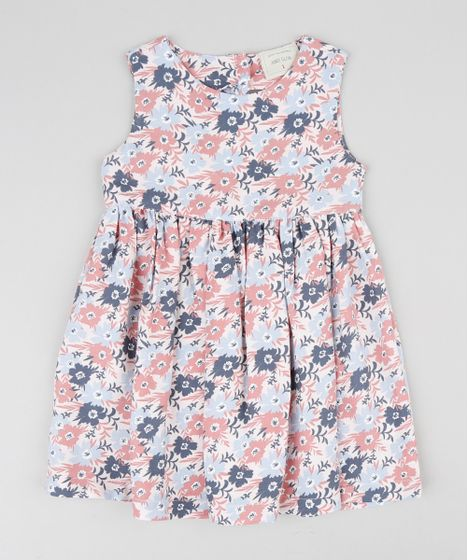595d4ce6c Vestido-Infantil-Estampado-Floral-Rosa-Claro-9416796-Rosa_Claro_1 ...