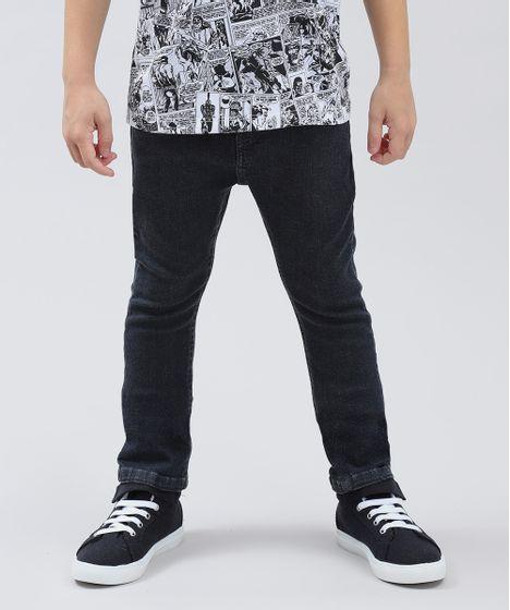 fda6d93eb Calca-Jeans-Infantil-Slim-Preta-9410370-Preto_1 ...