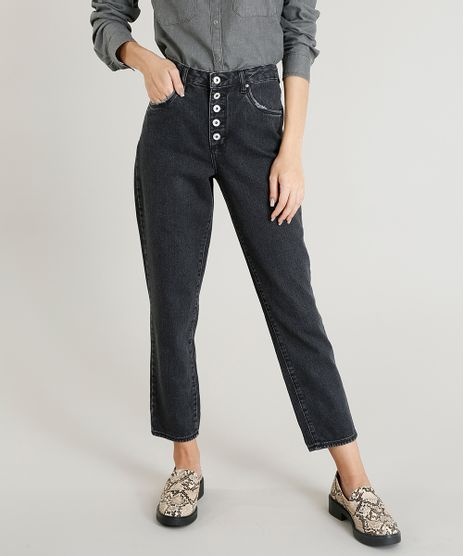 Calca-Jeans-Feminina-Mom-Pants-Mindset-Preta-9479849- 02b90c308d9