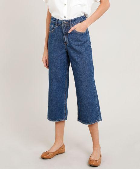Calca-Jeans-Feminina-Pantacourt-Azul-Medio-9346404-Azul_Medio_1